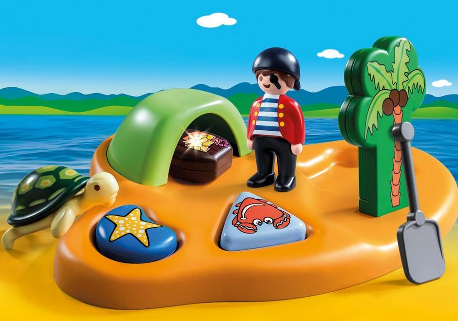 playmobil set 9119 pirate island klickypedia. Black Bedroom Furniture Sets. Home Design Ideas