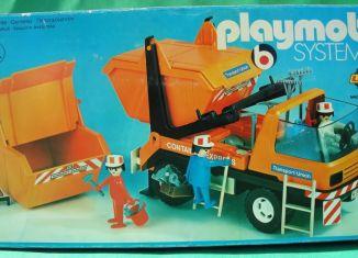 Playmobil - 3471-lyr - Dumpster Truck