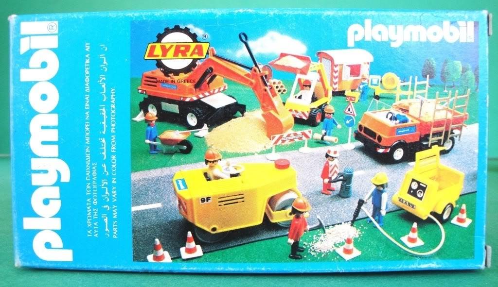 Playmobil 3325-lyr - Construction Worker - Box