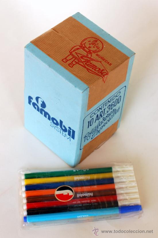 Playmobil 3600-fam - box of 10 pack of markers - Back