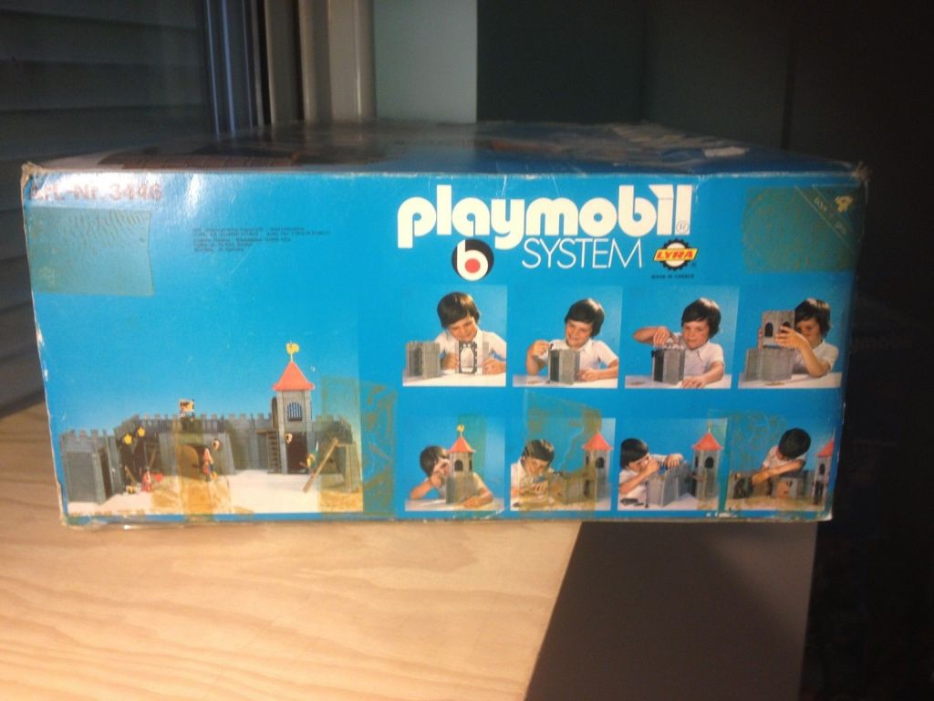 Playmobil 3446-lyr - Small castle - Box