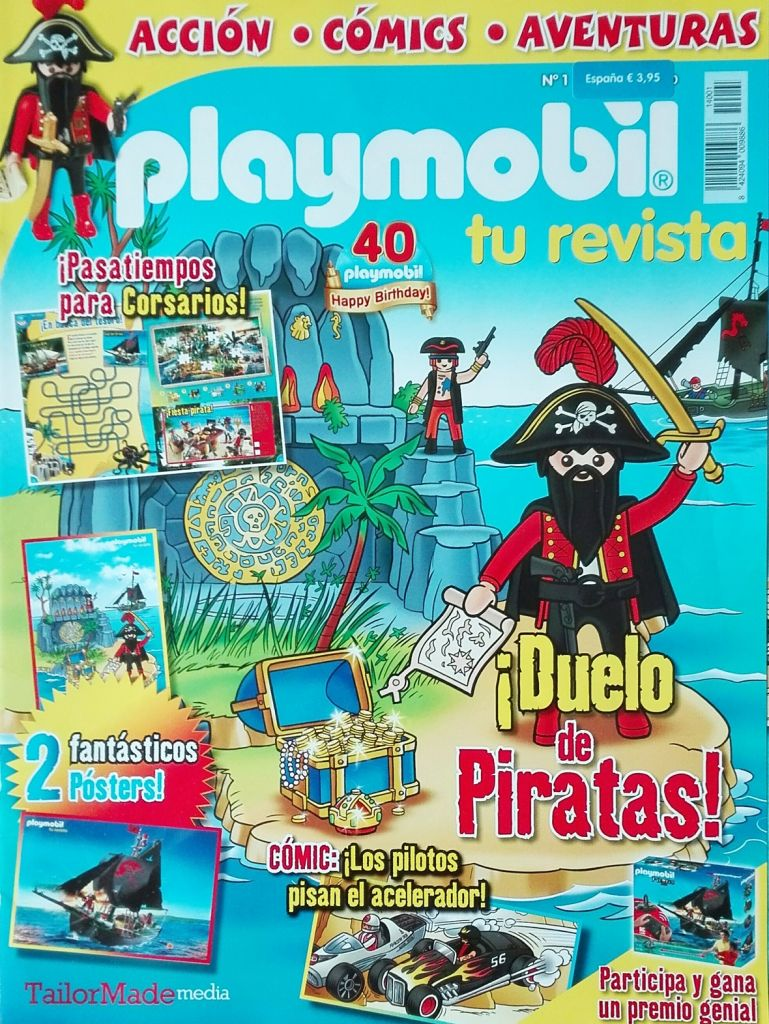 Playmobil R001-30792493-esp - Pirate - Box