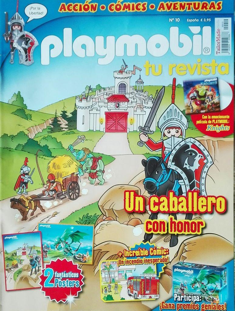 Playmobil R010-30795033-esp - Caballero del Halcón (Revista n.10) - Caja