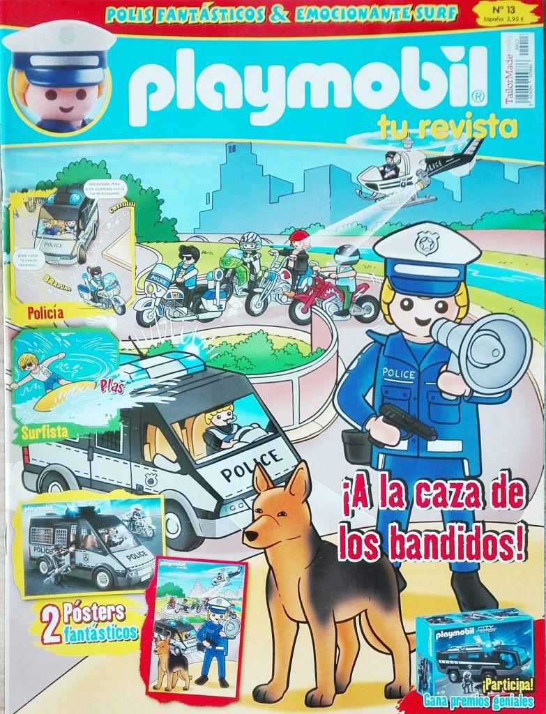 Playmobil R013-30796383 - Police with dog - Box