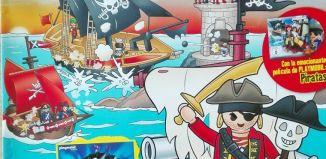 Playmobil - R015-30796413 - Capitán pirata ( revista nº 15 )