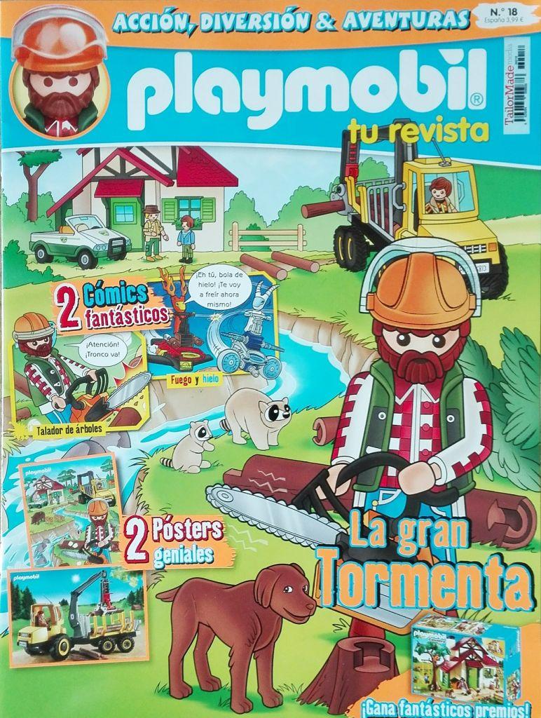 Playmobil R018-30798453-esp - Woodcutter - Box