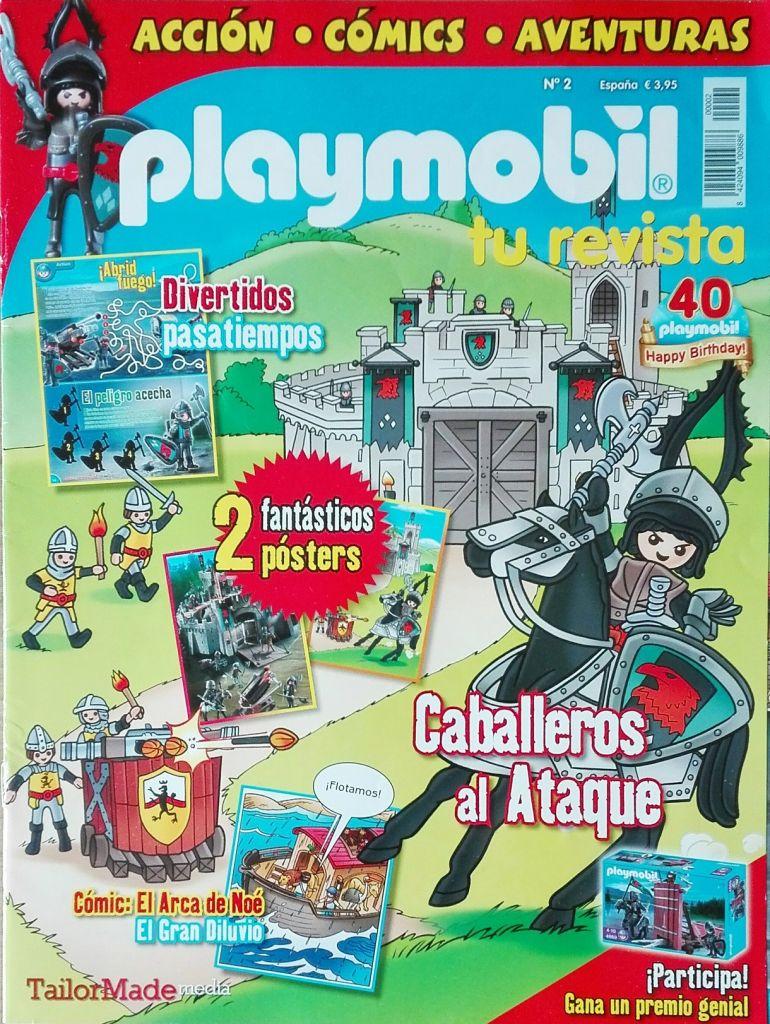 Playmobil R002-30792583-esp - Dark knight - Box