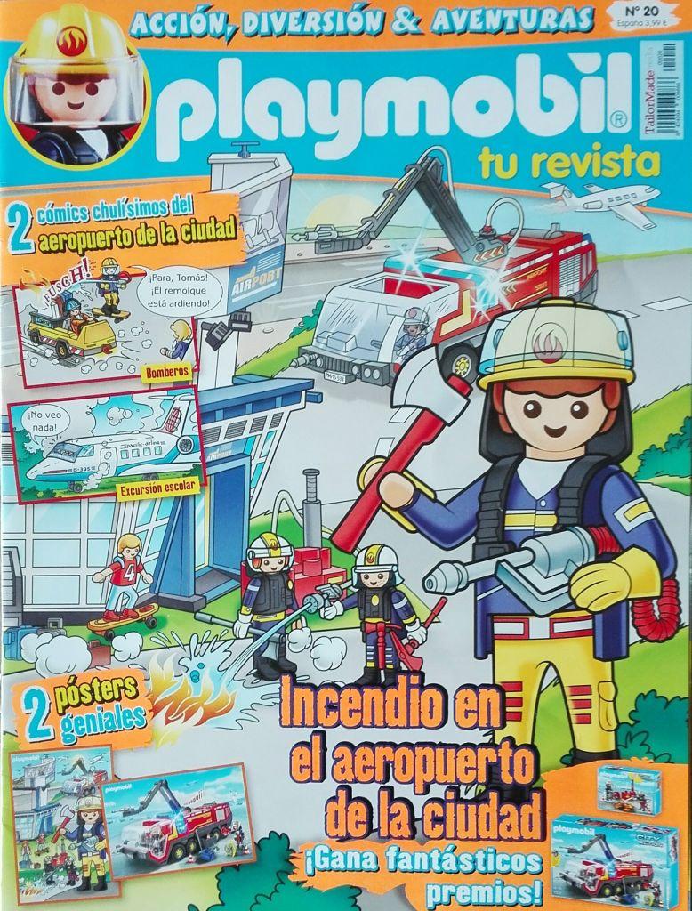 Playmobil R020-30798653-esp - Fire fighter - Box