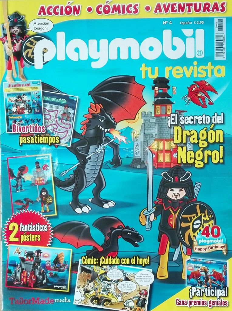 Playmobil R004-30792603-esp - Dragon's Warrior - Box