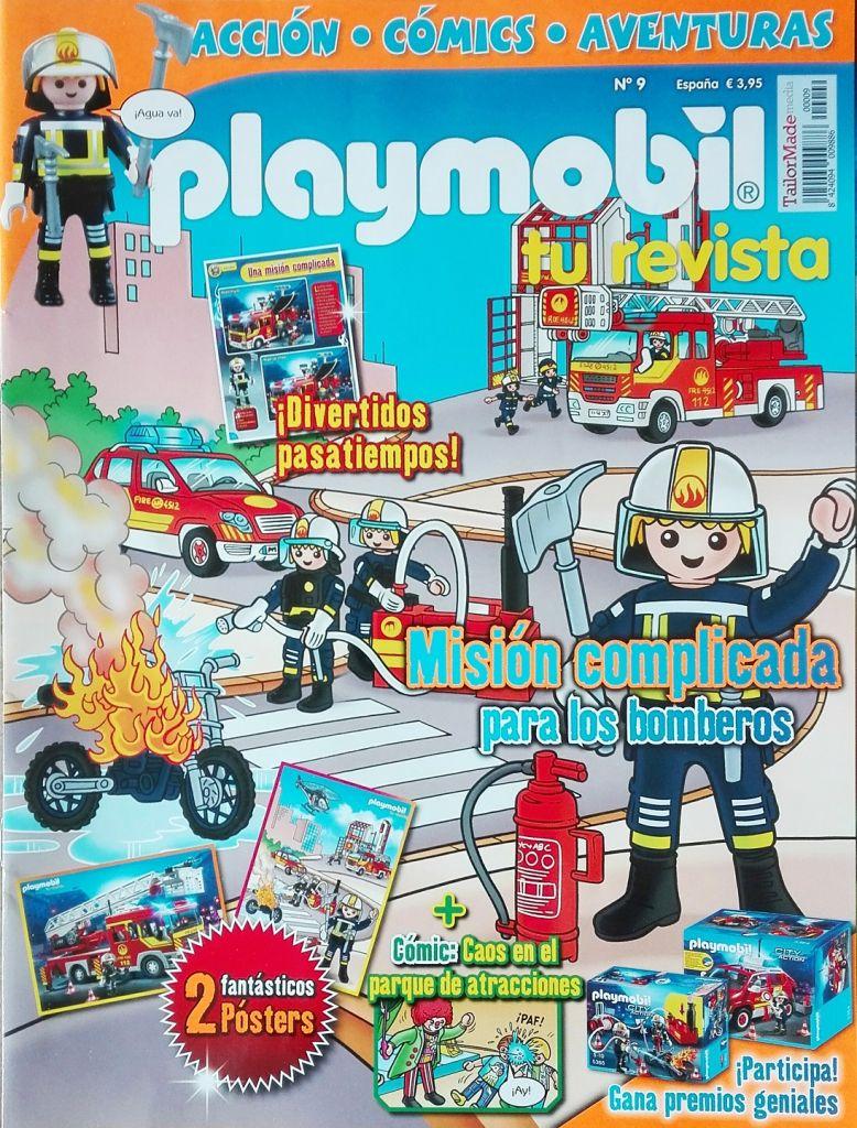 Playmobil R009-30793913-esp - Fireman - Box