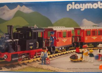 Playmobil - 4004-fra - Passenger Train with Steam Locomotive