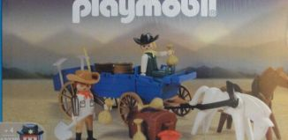 Playmobil - 13279-ant - Outlaws & wagon