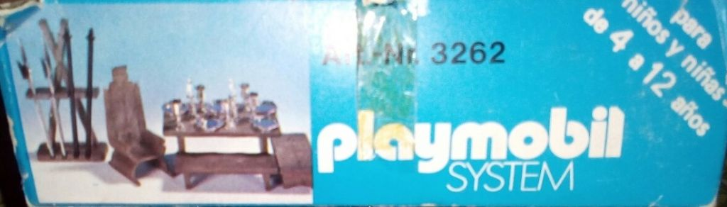 Playmobil 3262-ant - Knight Acessories - Box