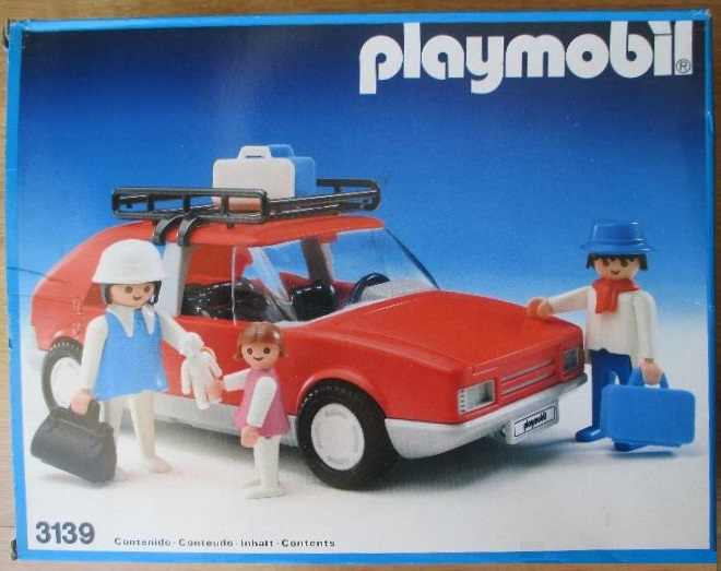 playmobil set 3139 esp red family car klickypedia. Black Bedroom Furniture Sets. Home Design Ideas