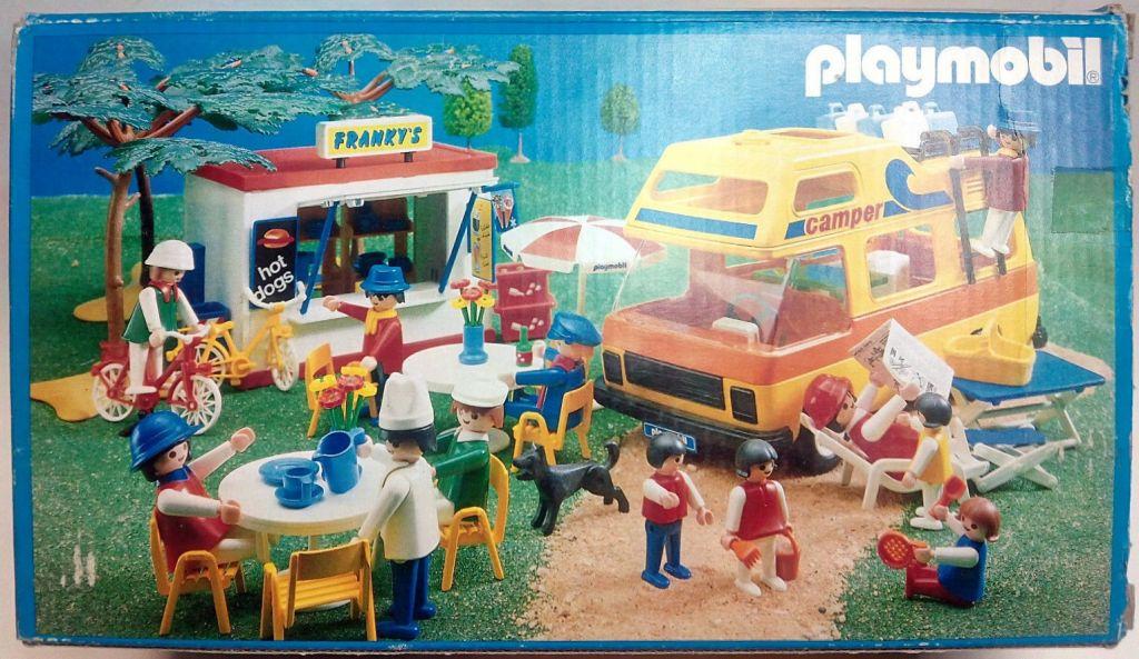 Playmobil 3148v4-esp - Camper - Back