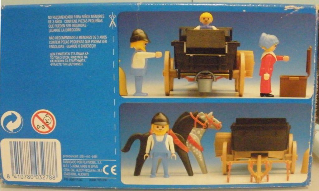 Playmobil 3278-esp - Settlers & covered wagon - Box
