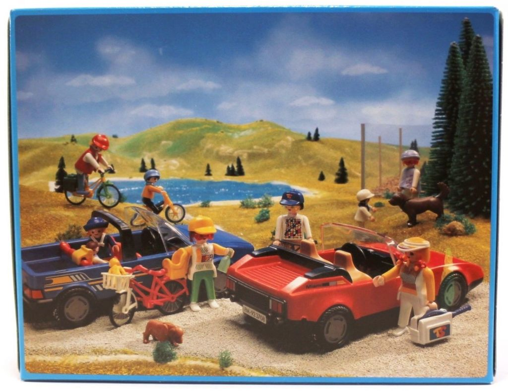 Playmobil 3708-esp - Red Sportscar - Box