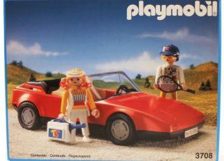 Playmobil - 3708-esp - Red Sportscar