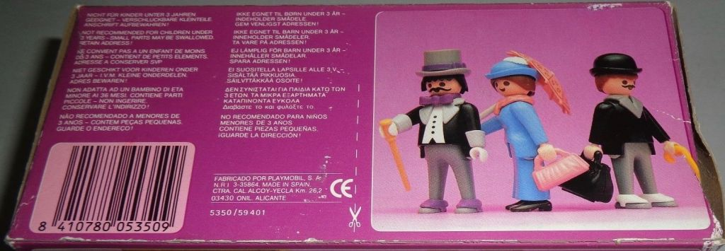 Playmobil 5350-esp - Victorian Kiosk - Box