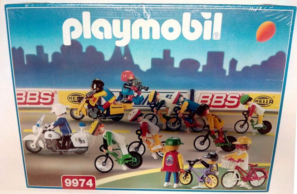 Playmobil 9974v1-esp - Bike Race - Box