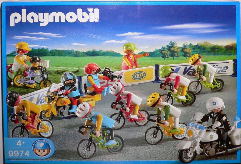 Playmobil Set  9974v2-esp - Bike Race