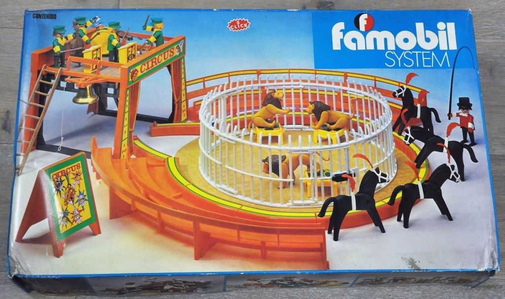 Playmobil set 3194 fam circus klickypedia - Cirque playmobil ...