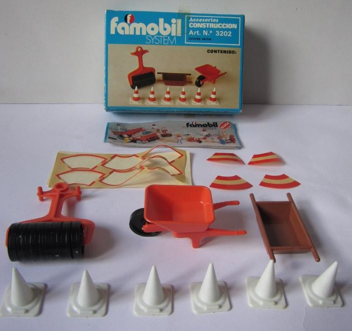 Playmobil 3202v1-fam - Construction accessories - Back
