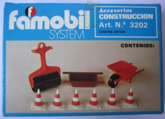 Playmobil - 3202v1-fam - Construction accessories