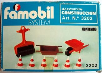 Playmobil - 3202v2-fam - Construction accessories
