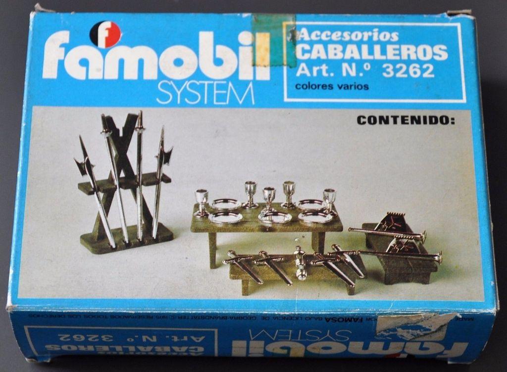 Playmobil 3262v2-fam - Knights accessories - Box