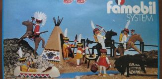 Playmobil - 3406-fam - Indian camp