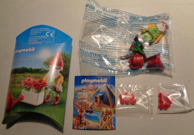 Playmobil 0000-ger - Garden Gnome Lechuza - Back