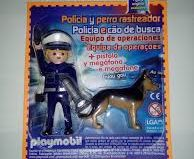 Playmobil - 013-30796383 - Police with dog