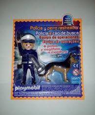 Playmobil - R013-30796383 - Police with dog