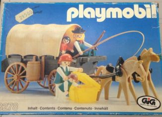 Playmobil - 3278-ita - Settlers & covered wagon