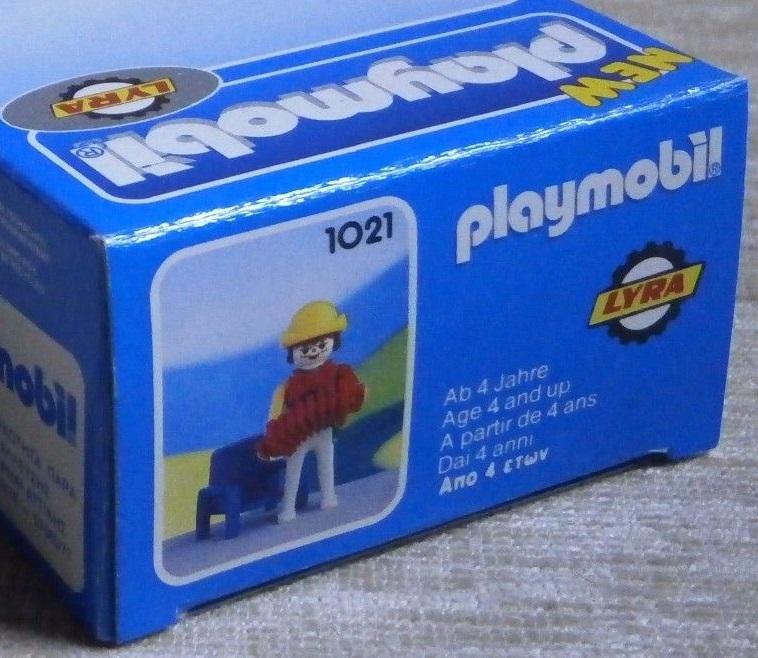 Playmobil 1021-lyr - Clown musician - Back