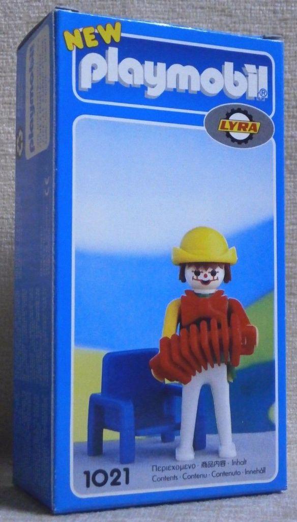 Playmobil 1021-lyr - Clown musician - Box