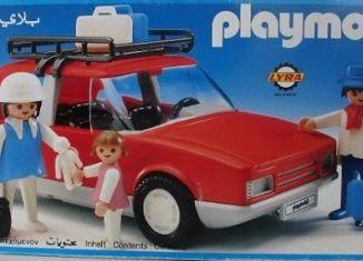 Playmobil - 3139v2-lyr - Red Family Car