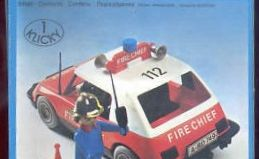 Playmobil - 3216-lyr - Fire Chief Car