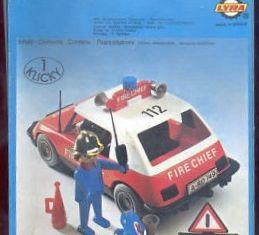 Playmobil - 3216-lyr - Fire Chief Car
