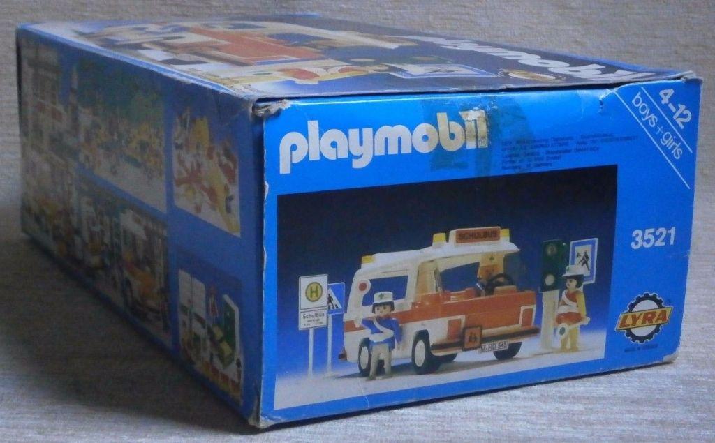 Playmobil 3521v3-lyr - School bus - Back