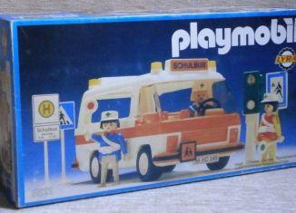 Playmobil - 3521v3-lyr - School bus
