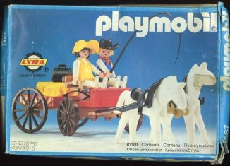 Playmobil - 3587-lyr - Western Farm Wagon