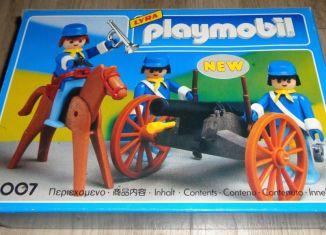 Playmobil - 4007-lyr - US artillery