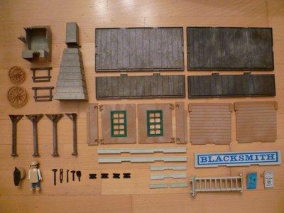 Playmobil 3430 - Blacksmith - Back
