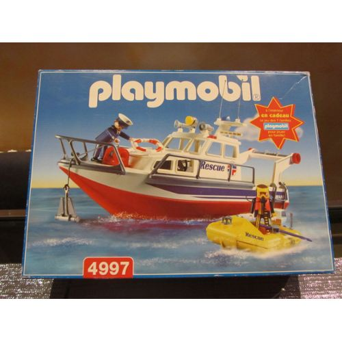 Playmobil 4997-fra - Rescue Boat - Box