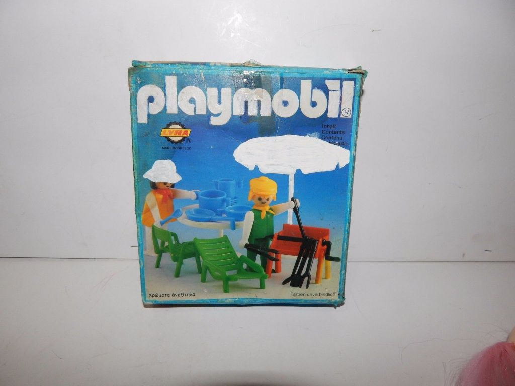 Playmobil 3L82-lyr - Gartenmöbel-Set - Box