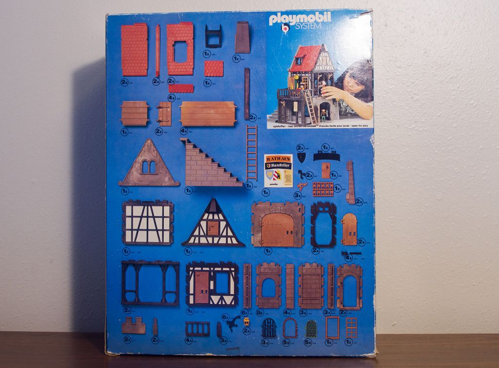 Playmobil 3447v2 - City Hall - Back