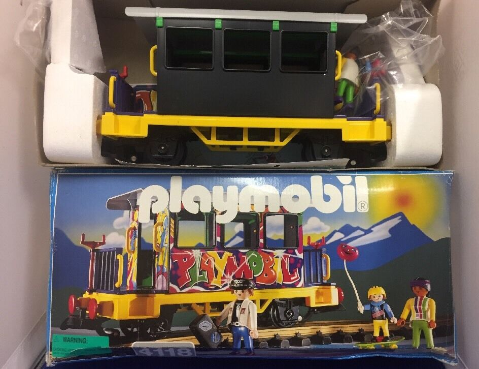 Playmobil 4118v1 - Graffiti Car - Back