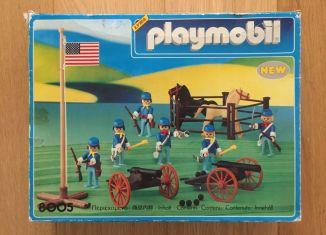 Playmobil - 8005-lyr - artillery western